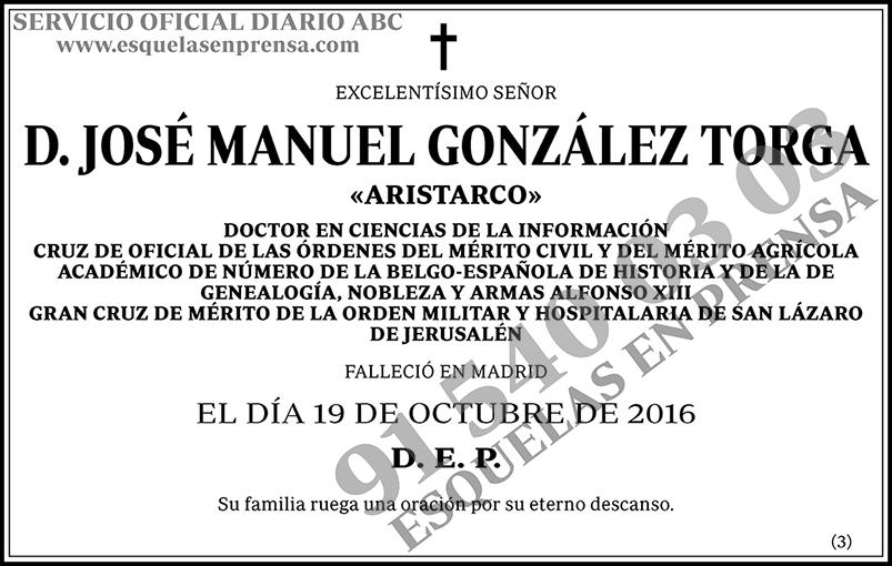 José Manuel González Torga